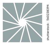 camera shutter apertures vector ... | Shutterstock .eps vector #560238394