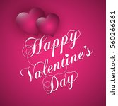 valentines day  | Shutterstock .eps vector #560266261