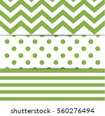3 green pattern for cute... | Shutterstock .eps vector #560276494