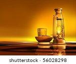 3d render of a lantern  dates...   Shutterstock . vector #56028298