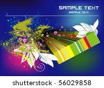 abstract grunge background eps10 | Shutterstock .eps vector #56029858