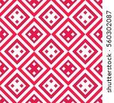 geometric boho seamless pattern ...   Shutterstock .eps vector #560302087