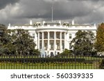 the white house in washington... | Shutterstock . vector #560339335