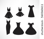 vintage dresses silhouette  set