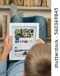minsk  belarus   january 3 ... | Shutterstock . vector #560369845