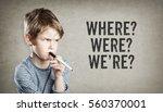 grammar questions were  where ... | Shutterstock . vector #560370001
