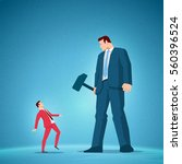 business concept vector... | Shutterstock .eps vector #560396524