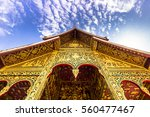 entrance to the haw pha bang... | Shutterstock . vector #560477467