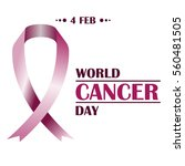world cancer day. image... | Shutterstock .eps vector #560481505