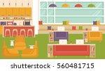 office coworking | Shutterstock .eps vector #560481715
