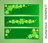 St. Patrick\'s Day Green Banner...