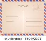 vintage postcard. vector...   Shutterstock .eps vector #560492371