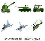 vector illustration of a six... | Shutterstock .eps vector #560497525