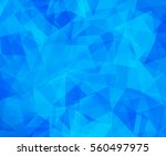 vector background from polygons ... | Shutterstock .eps vector #560497975