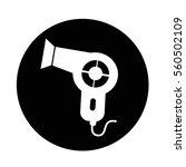 hair dryer icon | Shutterstock .eps vector #560502109