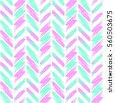 stylized feathers pattern  boho ... | Shutterstock . vector #560503675