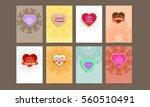 wedding invitation card or... | Shutterstock .eps vector #560510491