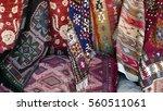 turkish rugs | Shutterstock . vector #560511061