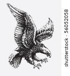 swooping eagle   Shutterstock .eps vector #56052058