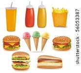 photo realistic vector. big... | Shutterstock .eps vector #56053387