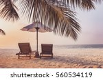 beautiful beach background for... | Shutterstock . vector #560534119