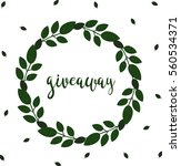 giveaway. hand drawn... | Shutterstock .eps vector #560534371