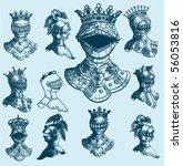 Illustration Shield Design Set...