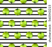 apple seamless pattern texture...   Shutterstock .eps vector #560543215
