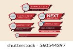 lower third | Shutterstock .eps vector #560544397