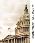 u.s. capitol  washington dc ... | Shutterstock . vector #560559379