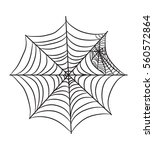 cobweb illustration isolated on ... | Shutterstock .eps vector #560572864