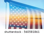 american flag during an amazing ...