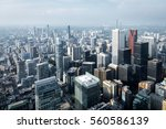aerial view of modern... | Shutterstock . vector #560586139