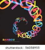 bstract background with... | Shutterstock .eps vector #56058955