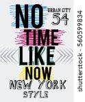 new york style  urban city t... | Shutterstock .eps vector #560599834