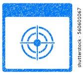 bullseye calendar page grainy...   Shutterstock . vector #560601067