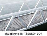 bridge over water | Shutterstock . vector #560604109