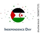 independence day of western... | Shutterstock .eps vector #560607151