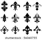 Royal French Lily Symbols  ...