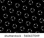 ornament with elements of black ... | Shutterstock . vector #560637049