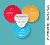 vector infographic template  3...   Shutterstock .eps vector #560637607