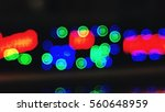 blur color red green blue bokeh ... | Shutterstock . vector #560648959