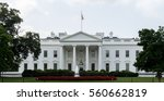 the white house   washington d...   Shutterstock . vector #560662819