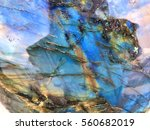Labradorite Gemstone Background