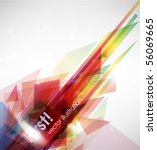 abstract vector background | Shutterstock .eps vector #56069665