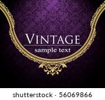 vintage background | Shutterstock .eps vector #56069866