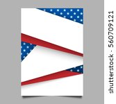 usa patriotic background.... | Shutterstock .eps vector #560709121