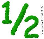 high resolution grass symbol... | Shutterstock . vector #56072050