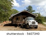 House Movers - stock photo