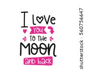 vector poster with phrase and... | Shutterstock .eps vector #560756647